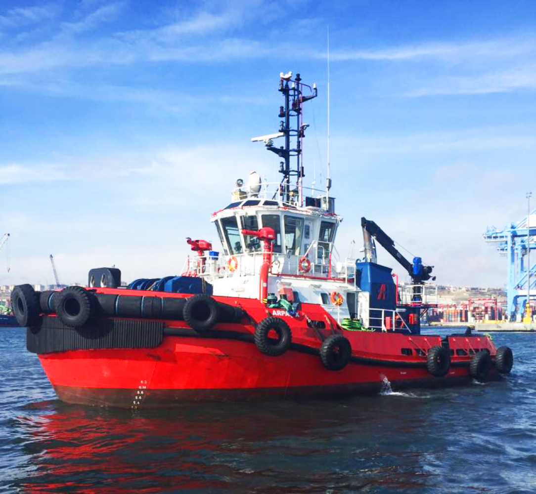 Med Marine has delivered a RAmparts 2500W to Arpaş Pilotage and Towage