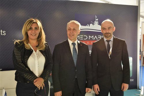 Cemalettin Şevli visited Med Marine at Exposhipping!