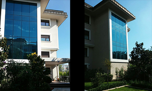Construction of the Building in Tarabya, Istanbul