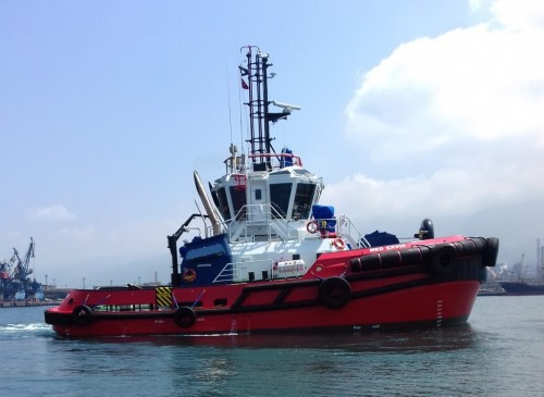 Med Marine Delivers a New 2350 ASD Tugboat to its Harbour Fleet.