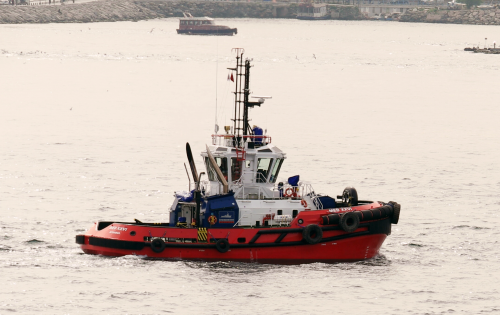 Med Marine delivered the third RAmparts 2300-MM ASD tugboat to its harbour fleet