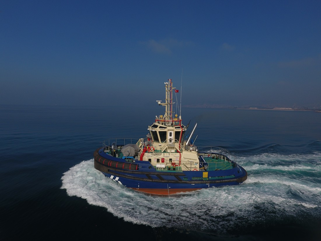 Delivery of MED-A2360 Series Tugboat to Abu Dhabi Ports was Completed