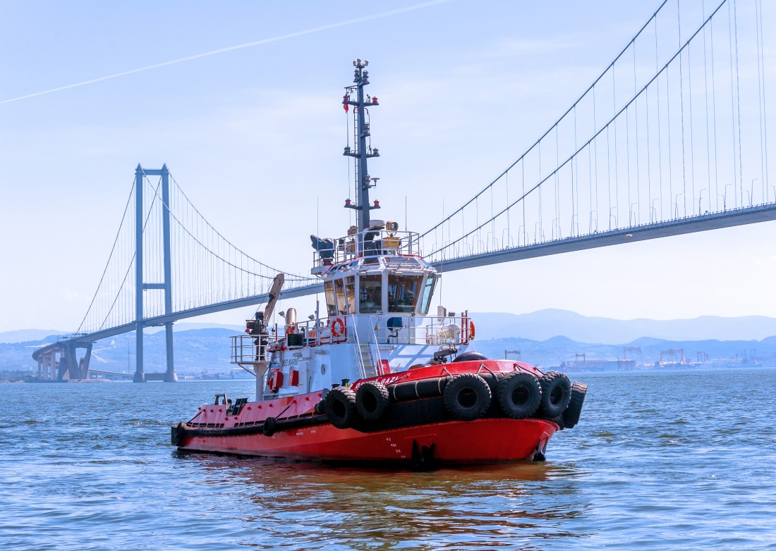 MED MARINE delivers a 24m ASD Tug from Turkey to Estonia.