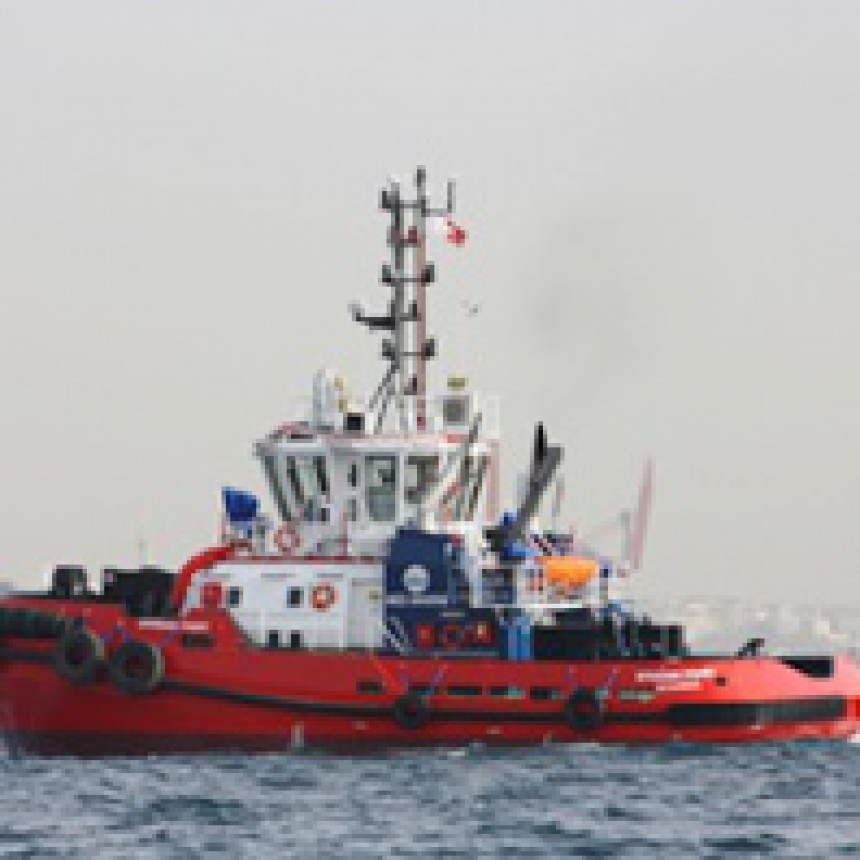 Med Marine delivered the 3rd 60 TBP ASD tugboat to Izmit Bay.