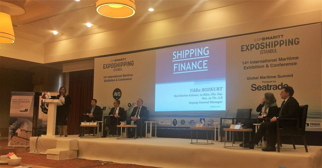 Med Marine's Deputy General Manager, Yildiz Bozkurt, spoke at Seatrade's Global Summit!