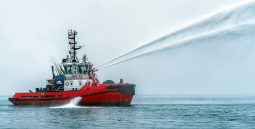 25m ASD Tug, Med Yarımca, was Sent off to South America