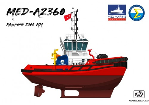 Med Marine and Abu Dhabi Ports Sign  Deal for State-of-the-art MED-A2360 Tug