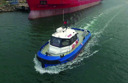Med Marine Delivered 14m Line Handling Boat to Briggs